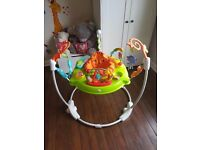 USED Fisher-Price Roaring Rainforest Jumperoo