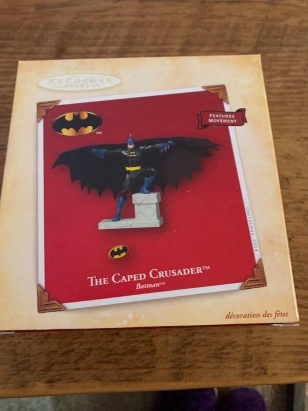 Hallmark Keepsake Ornament  2004 Batman the Caped Crusader Movement DC Comics