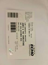 Charlatans/James Standing Ticket