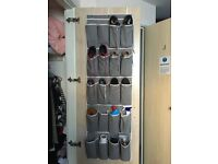MOVING AWAY: Overdoor Shoe Rack Storage (John Lewis)