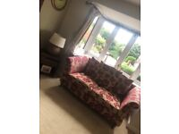 3 seater and 2 seaters fabric sofas