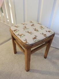 Little old wooden stool