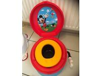 MICKEY MOUSE POTTY (Sound affects to encourage a child!)