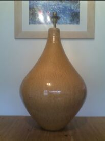 Stylish Ceramic Lamp Base 1970s Large Floor Or Table Standing