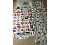 Two Kids duvet covers and pillowcase France 1998 World Cup theme