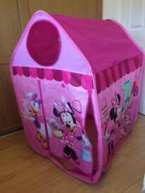 Minnie's boutique play tent