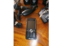 Sony Ericsson Walkman W302 Mobile Phone with lots of extras