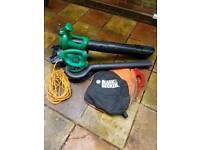 Leaf blower & vacuum Black & Decker