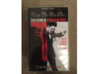 Confessions of a Dangerous Mind Big Box Ex Rental VHS Video