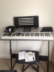 Electric keyboard-hardly used