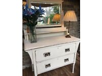 Dressing Table vintage Painted in Annie Sloan chalk Paint