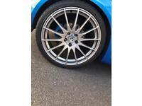 "Fox wheels 5x110 19"""