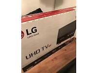 LG UHD 4K 43'' TV BRAND NEW WITH FREE KETTLE AND SKY BOX