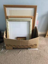 Large Wooden Frames