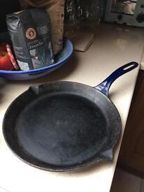 AGA Cast Iron Skillet Frying Pan.