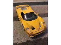 Burago Ferrari F50 yellow for sale!