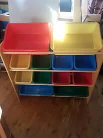 Toy craft storage