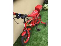 "Fire chief Kids 12""bike"