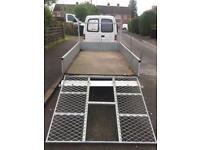 """Factory Built 8ft 2"""" x 4ft 7"""" trailer + ramps/spare wheel"""