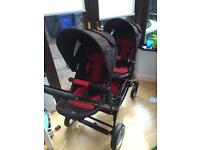 Obaby Zoom tandem pushchair for sale