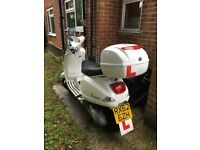 Vespa LX125 moped for sale
