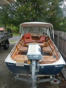 Stacer Seaspri Boat and Trailer Bli Bli Maroochydore Area Preview