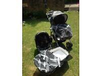 Mamas & Papas 3 in 1 combinations. MPX travel system.