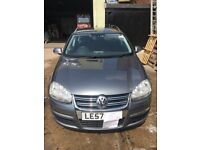Volkswagen Golf 1.9 TDI, 2008, in a perfect condition