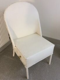 Lioyd Loom style White Chair