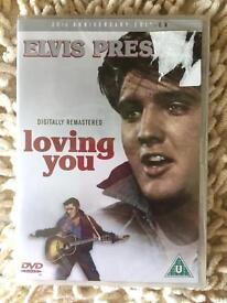 Elvis Presley 25th anniversary- Loving you DVD. New