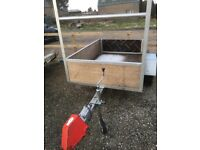 6 x 4 new build braked trailer