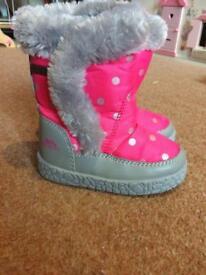 Pink TressPass Snow Boots