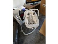 Joie 2 in 1 serina swivel baby swing