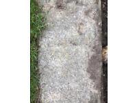 Concrete slabs reclaimed