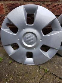 "Suzuki Swift MK II - 15"" Wheel Trims Cover Hub Caps x 4 for sale"