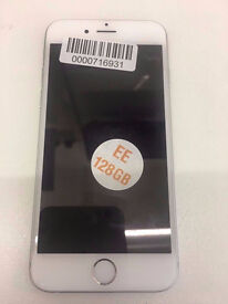 APPLE IPHONE 6 128GB EE NETWORK WITH RECEIPT AND WARRANTY
