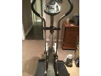 Cross trainer with built in fan, excellent condition