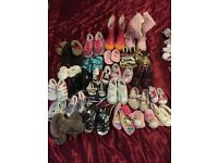 Girls Bundle of Clothes Shoes Bedding up to 3 Years Around 300 Items