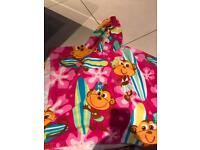 Girls pool beach hoodies
