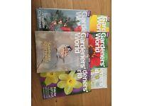 Gardeners World 2016 - 2017 6 issues