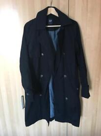 Ladies trench coat (GAP) size M