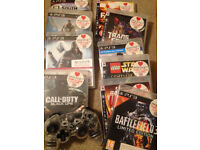 *** SOLD ****Playstation 3 with 2 controllers and 10 games