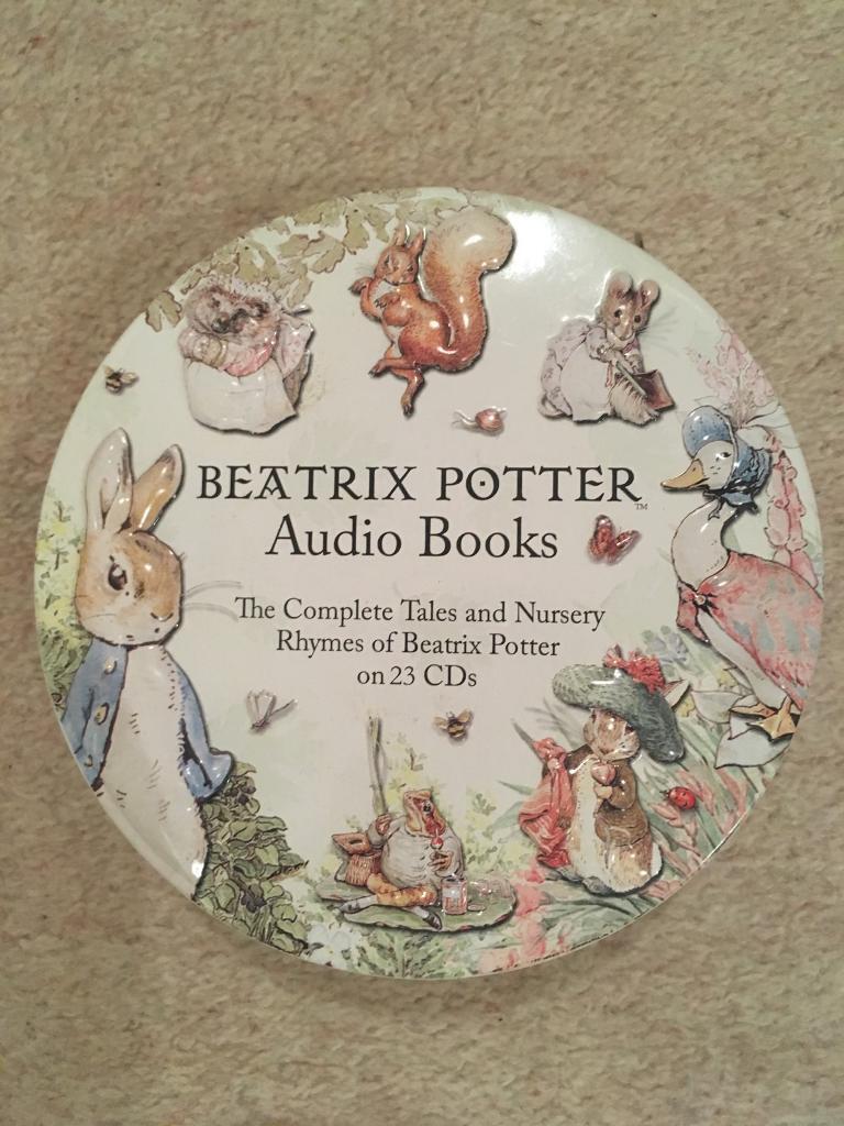 Beatrix Potter Audio CD's