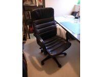 Leather Office Armchair