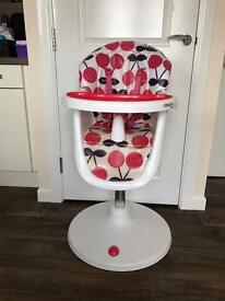 Cosatto 3Sixti High Chair in Cherry Pop (pink)