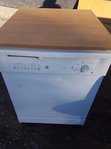 Alternative Appliances GE portable dishwasher