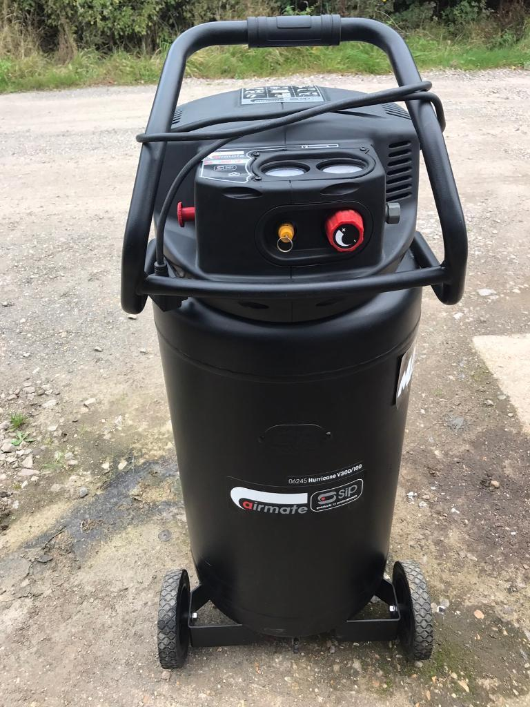 Mac tools Sip compressor 100litres like new