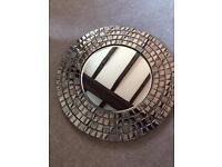 New Mosaic Circular Mirror 50cm