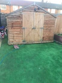 Garden Shed 15x10 (4.5mx3m) wooden