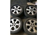 """2003 VAUXHALL ASTRA ZAFIRA ALLOY WHEELS AND TYRES 16"""""""